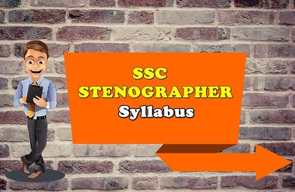 ssc-stenographer-syllabus