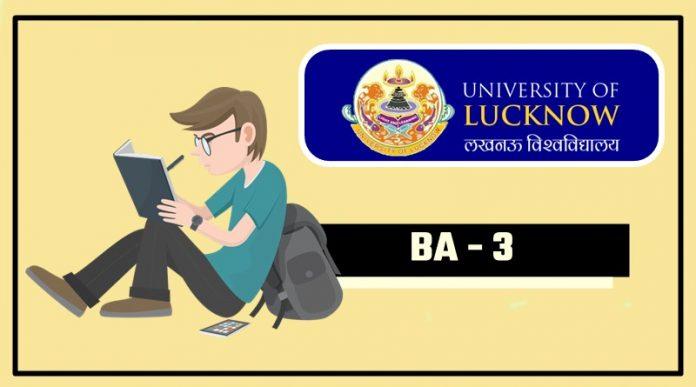 Lucknow-University-LU-BA-3-Third-Year-Result-2018