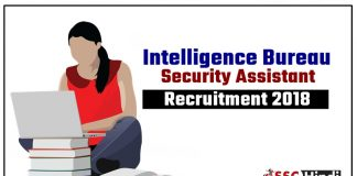 MHA-IB-Security-Assistant-Recruitment-2018